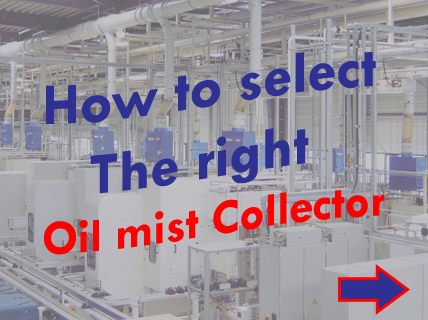 how to select oil mist