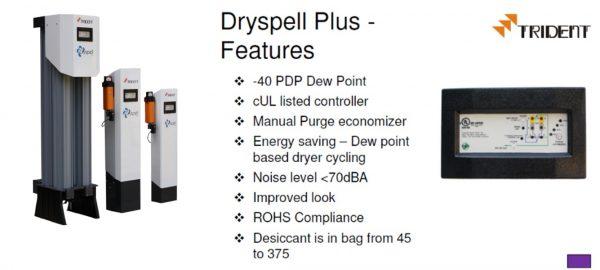 Desiccant Air Dryer เครื่องทำลมแห้งแบบเม็ดสารดูดความชื้น